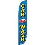 'CAR WASH' Carwash Advertising Flag