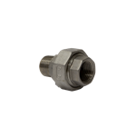 "Barrel Union 1/2"" M x F BSP Stainless"