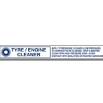 Decal Master Menu Strip 'Tyre/Engine Cleaner'