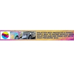 Decal Deluxe Menu Strip Triple Foam Conditioner