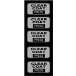 Decal Insert Clear Coat Touch Select (5 per pack)