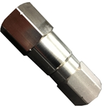 "Mosmatic straight swivel 3/8"" F x F for econo boom"