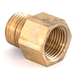 "Adapter 1/2""M/NPT x 1/2""F/NPT Brass"