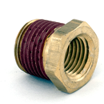 "Bush Reducing 3/8"" x 1/4"" Brass"