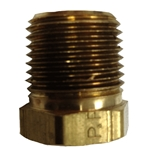 "Bush Reducing 1/2"" x 1/4"" Brass"
