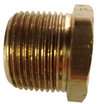 "Bush Reducing 3/4"" x 1/4"" Brass"