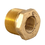 "Bush Reducing 3/4"" x 3/8"" Brass"