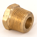 "Bush Reducing 1""NPT x 1/2""NPT Brass"