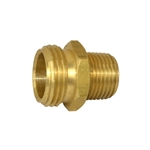 "Nipple Reducing Hex 1 1/16"" GHTM x 1/2"" BSP Brass"