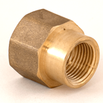 "Socket Reducing 3/4""NPT x 1/2""NPT Brass"