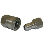 "Socket Female 3/8"" S/Steel"