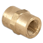 "Socket 1/4"" Brass"