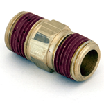 "Nipple Hex 3/8""M/NPT x 3/8""M/NPT Brass"