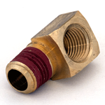 "Elbow 1/4""M/NPT x 1/4""F/NPT Brass"