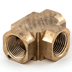"Tee Female 3/8""NPT Brass"