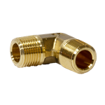"Elbow 3/8"" M/NPT x 3/8"" M/NPT Brass"