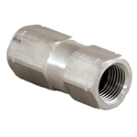 "Check Valve Stainless 1/2"" F x F"