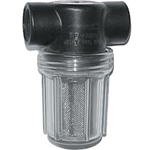 "Strainer 1/2"" F NPT 30 Mesh Clear Bowl"