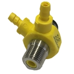 Injector Dual Yellow 040 1/2gpm