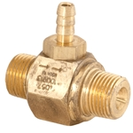 Injector Chem Single .057 x 8° Brass