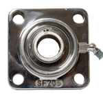 "Bearing Flange 4 Bolt 1"" Bore ABT Stainless LW360P"