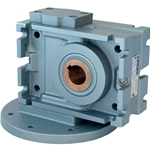 Gear Box 50:1 D80 Mount Light Blue