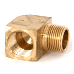 "Elbow Street 90° 3/4""NPT Brass"
