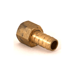 "Hose Barb 1/2""H x 3/8""NPT Female Brass"
