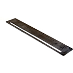 "Flag Rail 11GA x 2 3/4"" x 15 3/4"" (70x400mm) S/Steel"