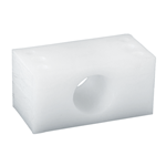 Bearing Block 1-3/16 White UHMW