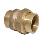 "Barrel Union 1-1/2""F BSP Brass"