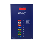 Decal iWash Touch Select Coinless No Cash Version