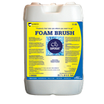 SuperSat Foam Brush Lemon Fragrance 6 Gal - White