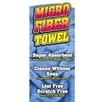 Overlay Microfibre Towel Blue