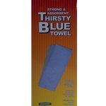 Overlay Thirsty Blue Towel