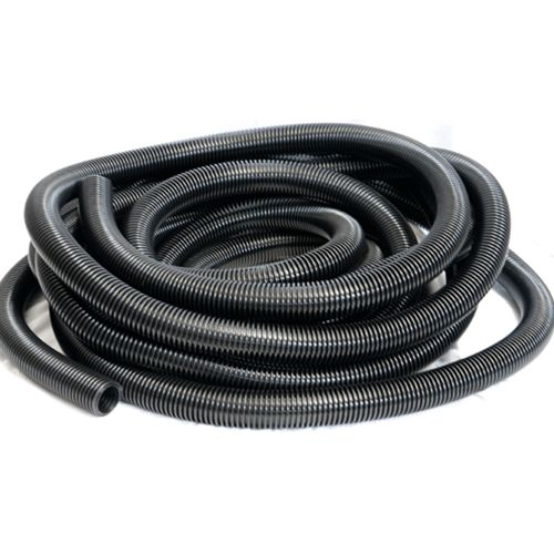 "Hose Vacuum 50ft x 1 1/2"" Black"
