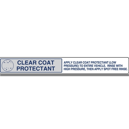 Decal Master Menu Strip 'Clearcoat Protectant'