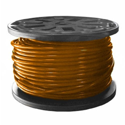 "Hose Poly Tubing 3/8"" Orange (per metre)"