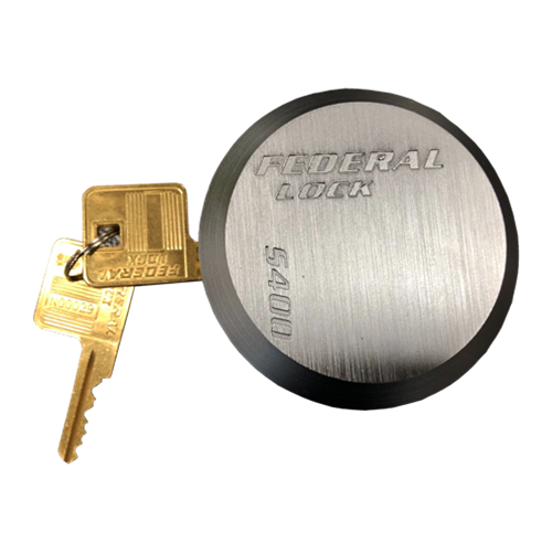 Federal Lock - Super Duty Hardened Steel