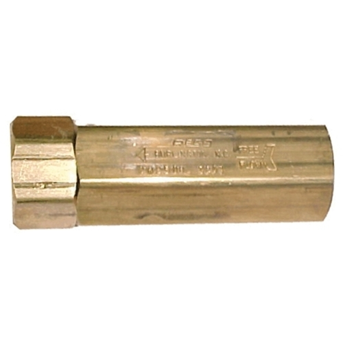 "Check Valve 2000psi 3/8"" F NPT Brass"