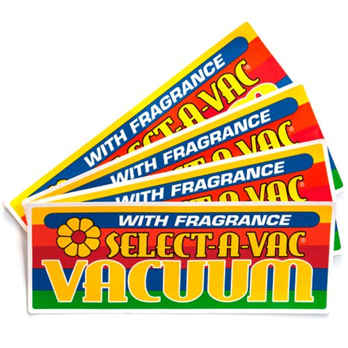 Decal Fragramatics Vac/Fragrance Dome (Set of 4)