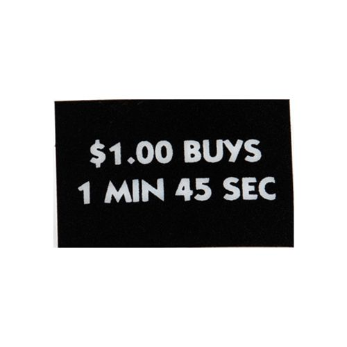 Decal $1 Buys 1 min 45 sec