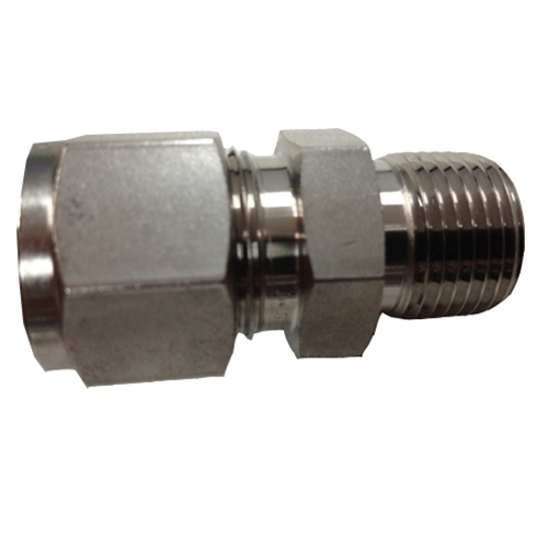 "Connector 1/2""T x 3/8""MNPT"