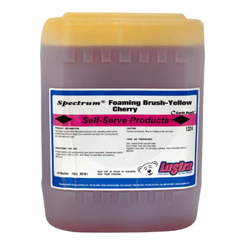 Lustra Foaming Brush Cherry 5 Gal - Yellow