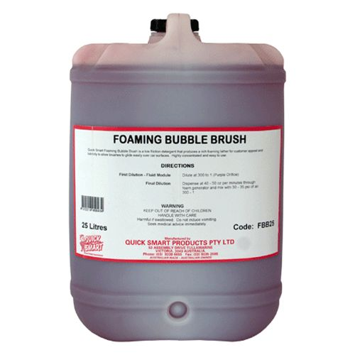 Foaming Bubble Brush 25 Lt
