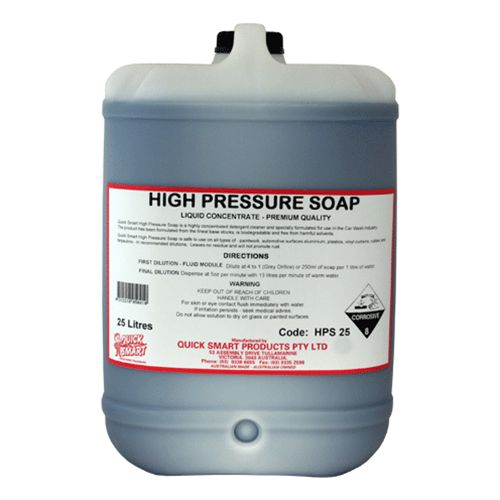 High Pressure Soap 25 Lt