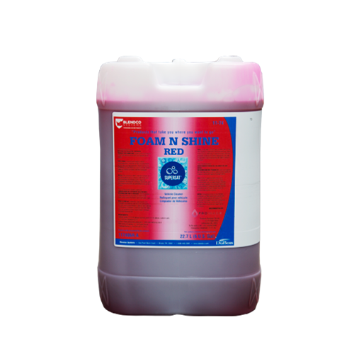 SuperSat Foam N Shine 6 gal - Red