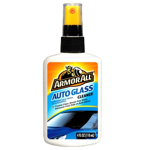 Armor All 4oz Glass Cleaner Flat Bottle