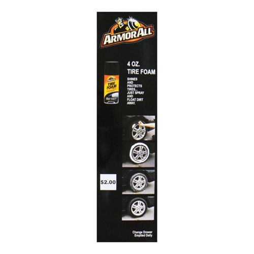 Decal Armor All Tire Foam 4oz